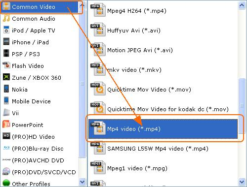 How to convert .mkv to .mp4 free.